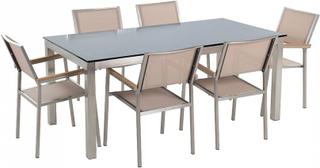 Havemøbler Sæt 6 GROSSETO GLAS