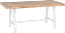 Pirttipöytä puinen valkoinen SCANIA