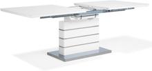 Ruokapöytä jatkettava 180/220 x 90 cm valkoinen HAMLER