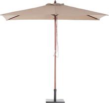 Puinen aurinkovarjo mokka FLAMENCO
