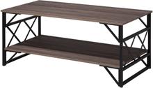 Tammenruskea sohvapöytä ruskea BOLTON