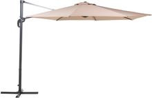 Riippuva aurinkovarjo hiekanharmaa SAVONA