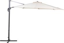 Riippuva aurinkovarjo ø 300 cm - vaaleanbeige SAVONA