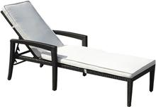 Aurinkotuoli polyrottinkinen beigellä istuintyynyllä PERUGIA