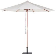 Puinen vaaleanbeige aurinkovarjo TOSCANA