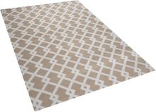 Kuvioitu beige matto 140x200 cm SERRES