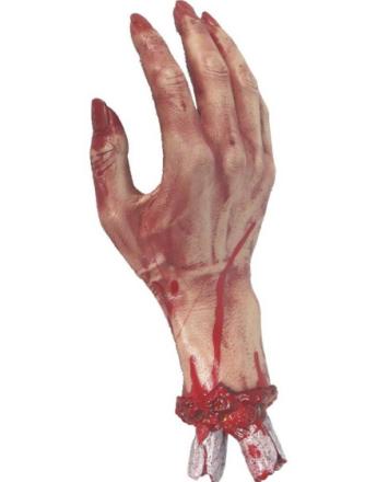 Avkappet Blodig Hånd Pynt