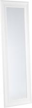 Klassinen kokovartalopeili valkoisella kehyksellä - 51 x 141 cm - LUNEL