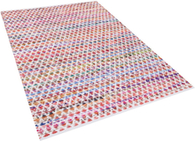 Värikäs puuvillamatto 160x230 cm ARAKLI