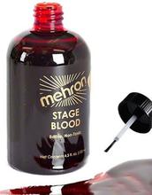 Stage Blood Dark Venous med Kost - 30 ml Mehron Profesjonelt Mørkt Teaterblod
