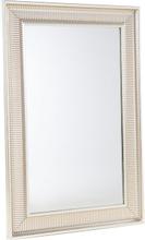 Seinäpeili kullan- ja hopeanvärisillä kehyksillä 60 x 90 cm - CASSIS