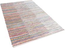 Puuvillamatto monivärinen 140x200 cm MERSIN