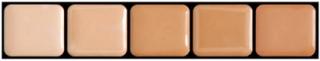 HD Glamour Creme Palette Warm #1 - Graftobian Sminkepalett 5 Farger