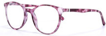 Demi Pink Reading Glasses, +2,5