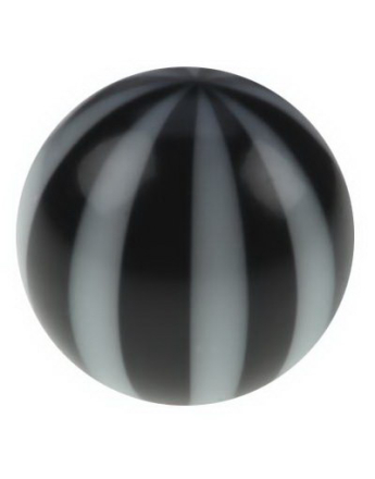 Badboll - Svart Akrylkula