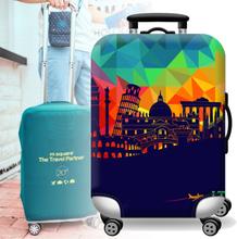 Elastische Gepäck Kofferabdeckung 20/24/28/32 in Staubdicht Protector Schutztasche