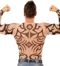 Tribal Tattoo Trøye