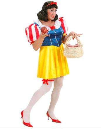 Drag Queen Princess Snow White