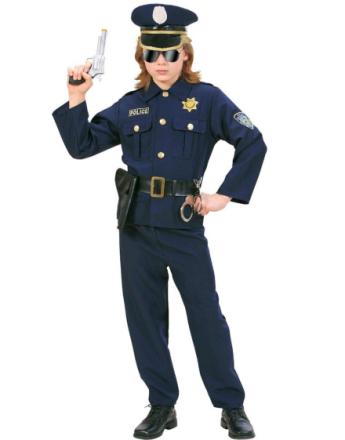 Polis - barndräkt