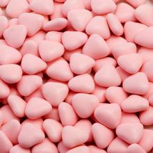Små Ljusrosa Chokladhjärtan