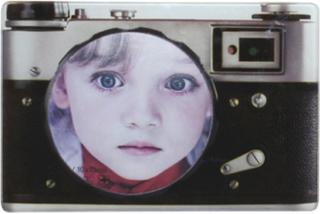 Retro Kamera - 12x18 cm Fotoram