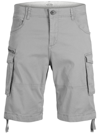 JACK & JONES Chop Cargo Akm 429 Sts Cargo Shorts Men Grey