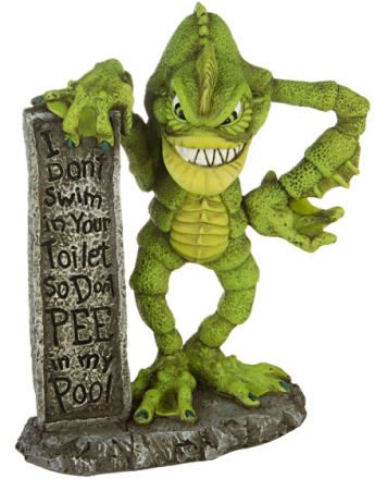Don't Pee in my Pool - 15 cm Figur