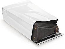 Versandbeutel mit Seiten- und Bodenfalte 300 x 470 mm, weiß