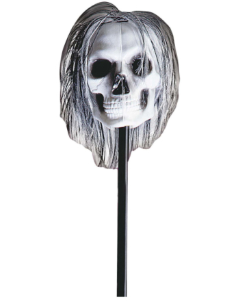 Voodoo Stick with Skull - 115 cm