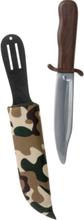 Jaktkniv med Kamo-Slire - 28 cm