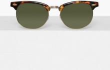 Topman Tortoiseshell Classsic Sunglasses Solglasögon Brown