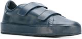Jil Sander hook & loop fastening sneakers - Blue