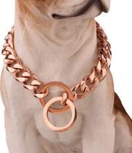 Haustier Hundehalsband Kette Edelstahl Link Choke Solid Halskette Metall Training 7 Größe Für Wählen