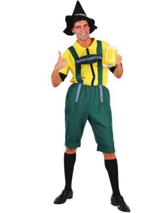 Germansk Øl Mann Kostyme