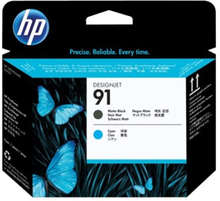 Hp Printhead No.91 Matt Sort/cyan