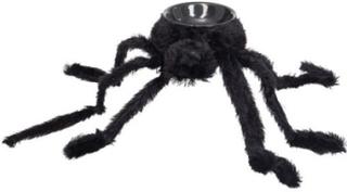 Edderkopp Skål - 85 cm Dekorasjon med Lyd, Lys & Bevegelse