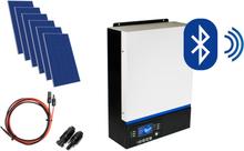 Hybrydowy zestaw solarny off-grid ESB-3kW-24 MPPT 6xPV Poli