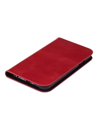 Supreme Slim case iPhone 6/6s Red Real Leather