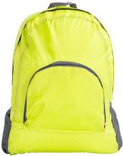 Vandafvisende rygsæk - Lime Grøn - Foldbar - 15 liter