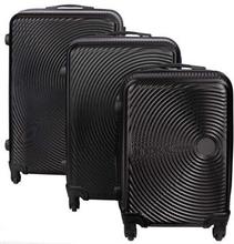 Sort Kuffertsæt - Sæt med rejsekufferter i 3 størrelser - Eksklusiv hardcase kuffertsæt