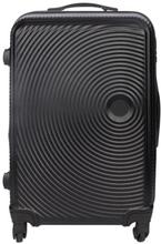 Stor kuffert - Sort hardcase rejsekuffert - Eksklusiv kuffert med smart design
