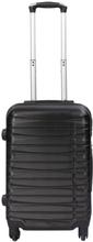 Kabinekuffert - Sort hardcase kuffert - Eksklusiv rejsekuffert