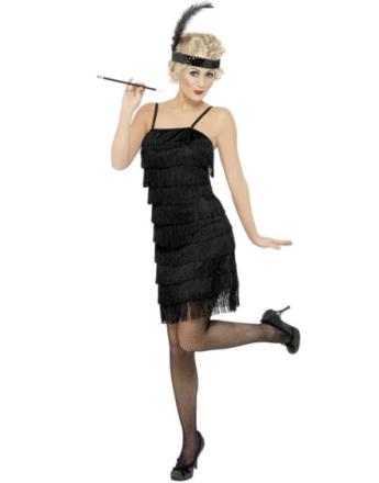1920's Flapper Lady - Kostym
