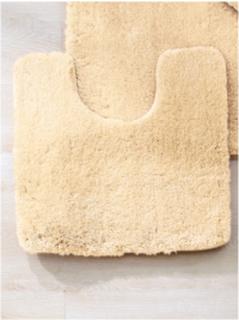 Toalettmatta till golvmonterad från Kleine Wolke beige