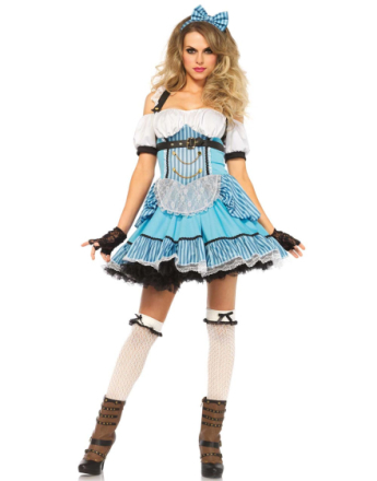 Steampunk Alice in Wonderland - Kostym