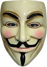 Guy Fawkes - Lisensiert V for Vendetta Maske