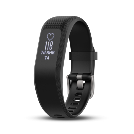 Garmin Vivosmart 3 Pulsur Sort (Small-Medium) - Apuls