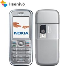 Nokia 6233 refurbishe-original Nokia 6233 phone with 2MP camera 3G loud speaker support Russian menu Russian keyboard