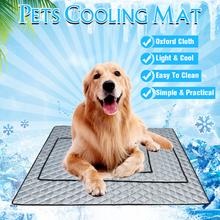 Haustier-kühlende Matte-ungiftige kühle Auflage, die Haustier-Bett für Sommer-Hundekatzen-Welpen abkühlt