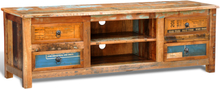 vidaXL TV-bänk antik stil 4 lådor